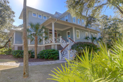 Isle Of Palms Single Family Home For Sale: 1 Dolphin Row