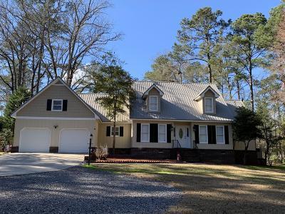 Walterboro Single Family Home For Sale: 4 Fairway Court