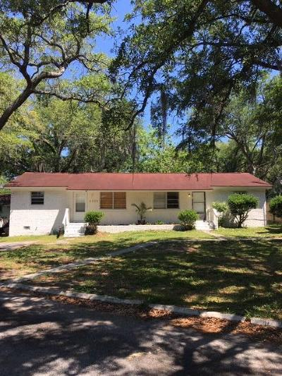 North Charleston Multi Family Home For Sale: 4556 Oakwood Avenue