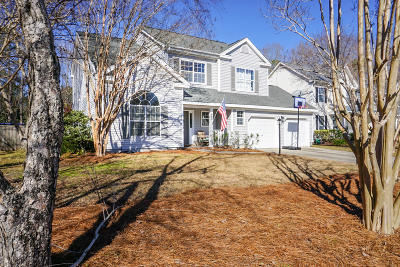 Charleston Single Family Home Contingent: 5401 E Berkers Court