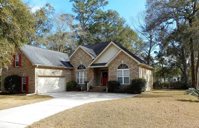 Stono Ferry, Stono Plantation Single Family Home For Sale: 5186 Forest Oaks Drive