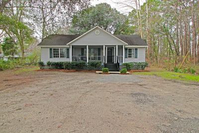 Johns Island Single Family Home Contingent: 548 Main Road