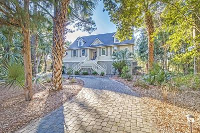Isle Of Palms Single Family Home For Sale: 8 Fairway Village Lane