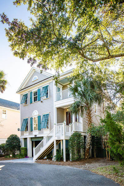 Isle Of Palms Single Family Home For Sale: 5815 Back Bay Drive