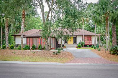 Seabrook Island Single Family Home For Sale: 2983 Seabrook Island Road