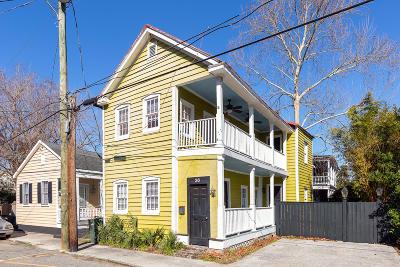 Charleston Single Family Home For Sale: 36 Rose Lane