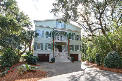Isle Of Palms Single Family Home For Sale: 7 Abalone Alley