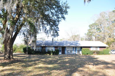 Berkeley County, Charleston County, Dorchester County Single Family Home For Sale: 3242 Von Ohsen Road