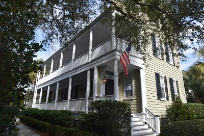 Charleston Single Family Home For Sale: 212 Wentworth Street