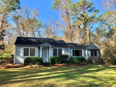 Berkeley County, Charleston County, Dorchester County Single Family Home For Sale: 2222 River Road