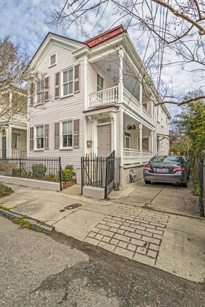 Charleston Single Family Home Contingent: 12 Percy Street