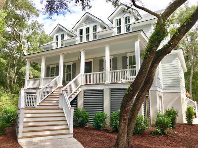 Johns Island Single Family Home For Sale: 3 Hopkinson Plantation Road