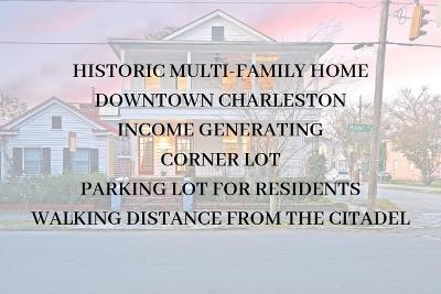 Charleston Multi Family Home For Sale: 448 Huger Street
