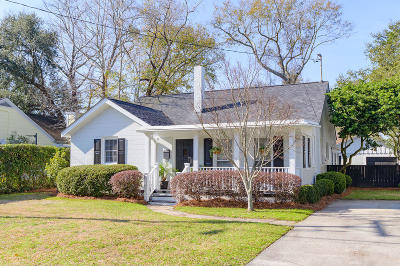 Charleston Single Family Home Contingent: 65 Avondale Avenue