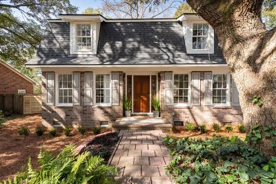 Charleston Single Family Home For Sale: 4 S Hampton Drive