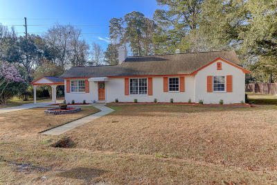 Charleston Single Family Home For Sale: 1259 Parkwood Estates Drive