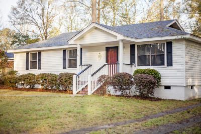 Walterboro Single Family Home For Sale: 218 Sable Street