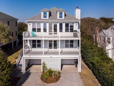 Isle Of Palms Single Family Home Contingent: 603 Ocean Boulevard