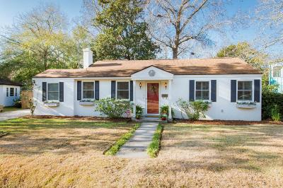 Charleston Single Family Home For Sale: 7 Rosedale Drive