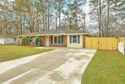 Berkeley County, Charleston County, Dorchester County Single Family Home For Sale: 7745 Cherrywood Drive