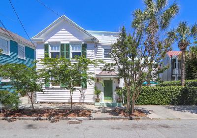 Charleston Single Family Home For Sale: 8 Jasper Street