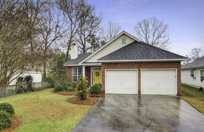 Charleston Single Family Home Contingent: 212 Hoylake Court
