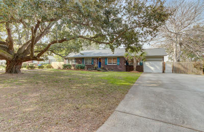 Charleston Single Family Home Contingent: 1290 Fort Lamar Road