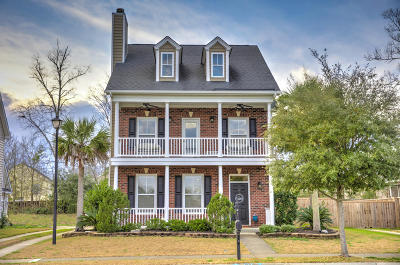Berkeley County, Charleston County, Dorchester County Single Family Home For Sale: 152 Pavilion Street