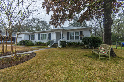 Charleston Single Family Home Contingent: 51 Chadwick Drive