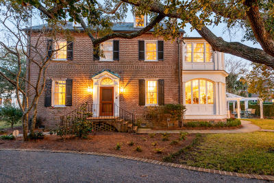 Charleston SC Single Family Home For Sale: $4,250,000