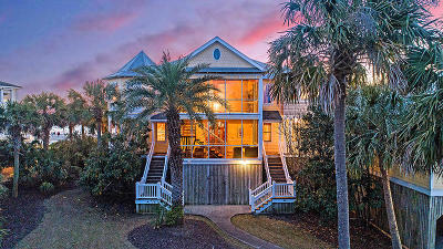 Isle Of Palms Single Family Home Contingent: 100 Ocean Boulevard