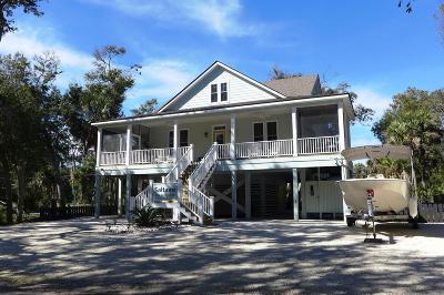 Edisto Beach Single Family Home Contingent: 616 Jungle Road