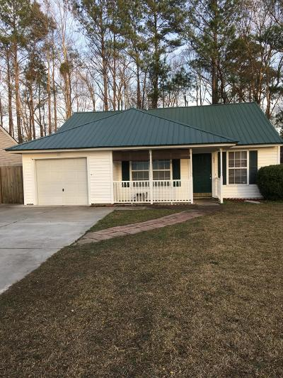 Summerville Single Family Home For Sale: 175 Tabby Creek Circle