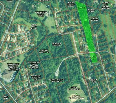 James Island Residential Lots & Land For Sale: Ben Rd