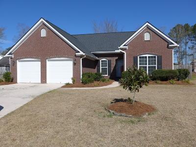 Charleston Single Family Home For Sale: 3506 Montgrove Court