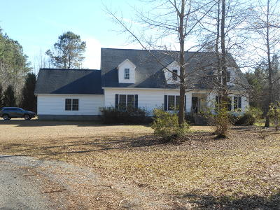 Walterboro Single Family Home For Sale: 3002 Cottageville Highway