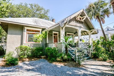 Charleston Single Family Home For Sale: 66 Barre Street