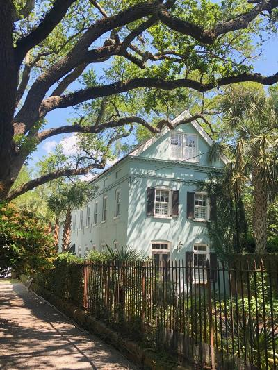 Charleston Single Family Home For Sale: 4 Gibbes Street