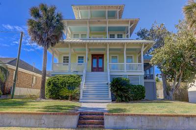 Folly Beach SC Single Family Home For Sale: $1,599,000