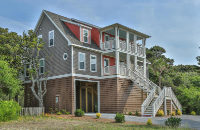 Folly Beach Single Family Home For Sale: 420 W Ashley Avenue