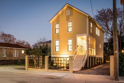 Charleston Single Family Home For Sale: 371 Huger Street