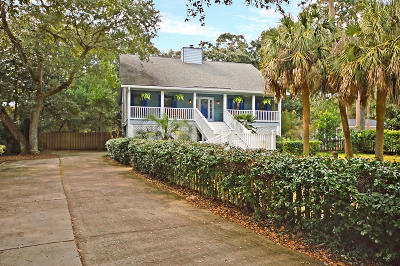 Isle Of Palms Single Family Home For Sale: 19 24th Avenue