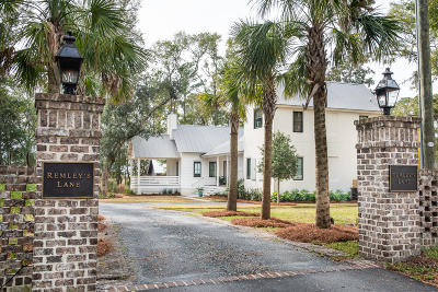 Charleston County Single Family Home For Sale: 701 Remleys Lane