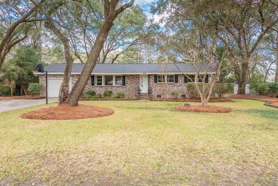 Charleston Single Family Home For Sale: 1840 Somerset Circle