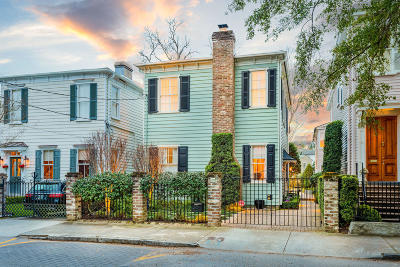 Charleston Single Family Home For Sale: 28 New Street
