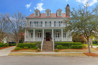 Charleston Single Family Home For Sale: 138 King George Street