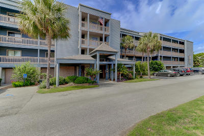 Folly Beach Attached Contingent: 166 Marsh View Villas