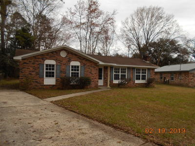 Summerville Single Family Home For Sale: 102 W Walnut Circle
