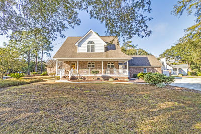 Charleston Single Family Home For Sale: 2405 Two Oaks Drive