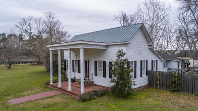 Walterboro Single Family Home For Sale: 7826 Sniders Highway